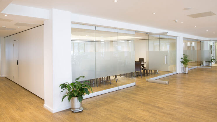Glass Walls Style Moveable Partition Specialists The