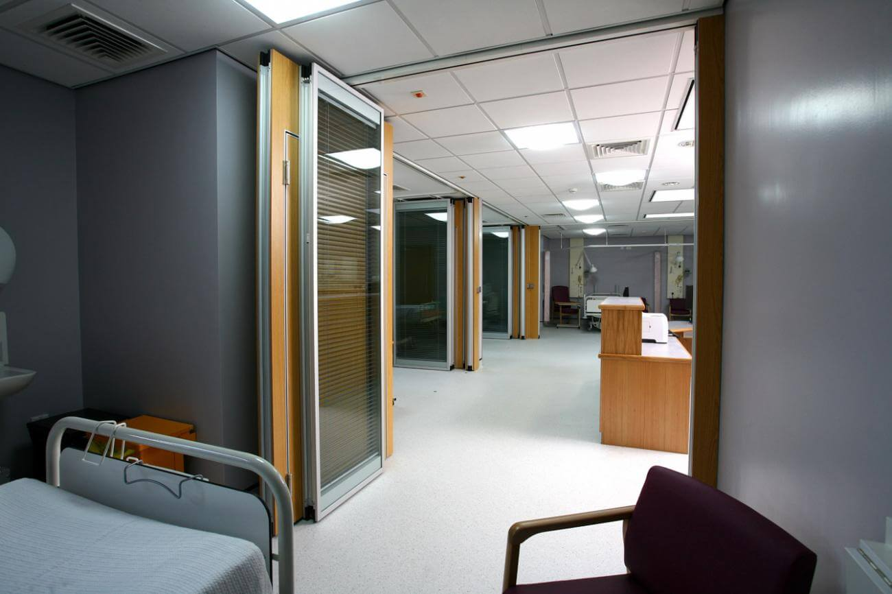 South Warwickshire Nhs 187 Style Moveable Partition